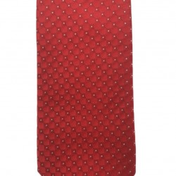 Silk tie 7 cm Altea (red)
