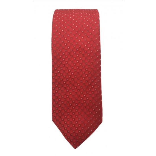 Silk tie 7 cm Altea (red)