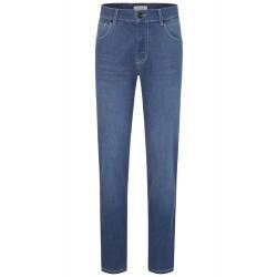 Jeans straight slim fit BUGATTI (μπλε-γκρι)