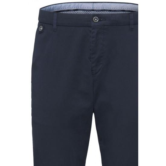 Chino Trousers Flatfront Soft Modern Fit Bugatti (navy)