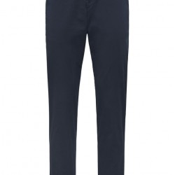 Chino Trousers Flatfront Soft Modern Fit Bugatti (navy)
