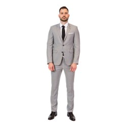 Κουστούμι slim fit DIGEL (γκρι)