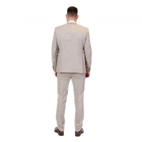 Κουστούμι slim fit DIGEL (σπαγγί)