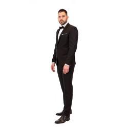 Κουστούμι σμόκιν slim fit DIGEL (μαύρο)