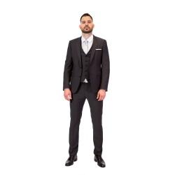 Κουστούμι slim fit DIGEL (γκρι σκούρο)