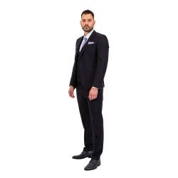 Κουστούμι slim fit DIGEL (μπλε)