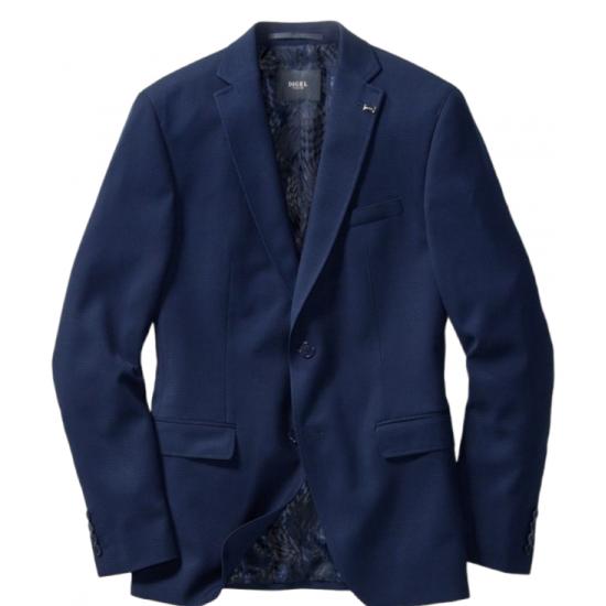Σακάκι slim fit ALBANO DIGEL (μπλε)