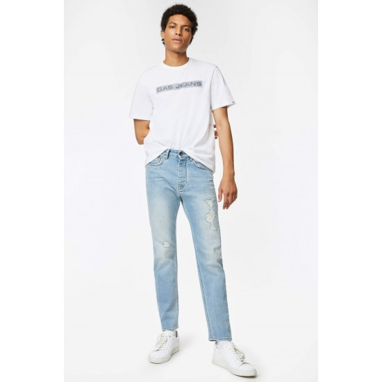 T-Shirt  SCUBA/S LINE GAS (λευκό)