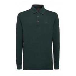 Μπλούζα Polo μακρυμάνικη GEOX (πράσινο)