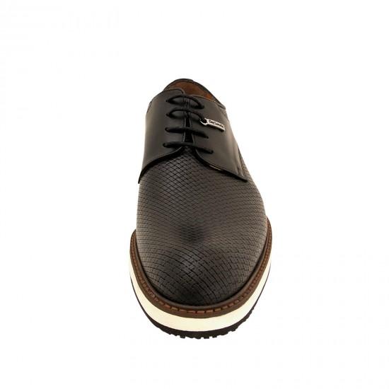 Παπούτσια Δετά SIEPE Guy Laroche  (μαύρο)