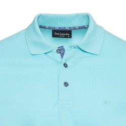Short Sleeve Polo Guy Laroche (turquoise)