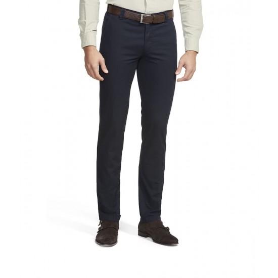 Παντελόνι Chino BONN Slim Fit MEYER (μπλέ)