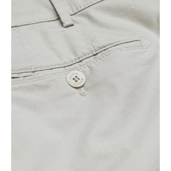Παντελόνι Chino BONN Micro-Structure cotton Modern Fit MEYER (μπεζ)