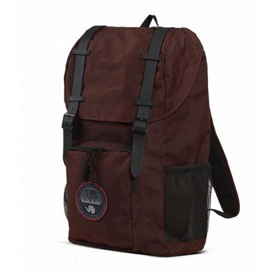 Backpack Hoyal Day Pack Napapijri (μπορντό)