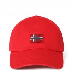 Καπέλο Jockey FONTAN Napapijri (κόκκινο)