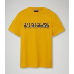Κοντομάνικο T-Shirt SOLANOS Napapijri (κίτρινο)