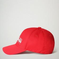 Καπέλο Jockey FRAMING 2 Napapijri  (κόκκινο)