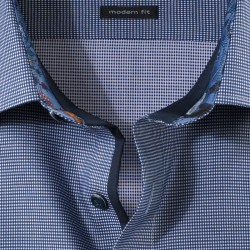 Shirt modern fit New Kent OLYMP (marine)