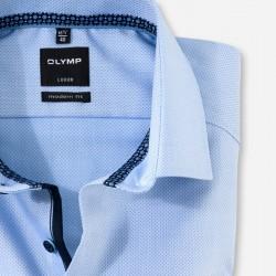 Πουκάμισο Modern Fit Business Shirt Global Kent OLYMP (γαλάζιο)