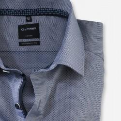 Πουκάμισο Modern Fit Business Shirt Global Kent OLYMP (μπλε)