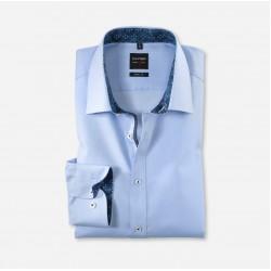 Πουκάμισο body fit OLYMP (blue)