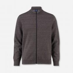 Cardigan Modern Fit Olymp (brown)