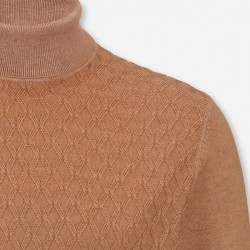 Pullover OLYMP Level Five (camel)