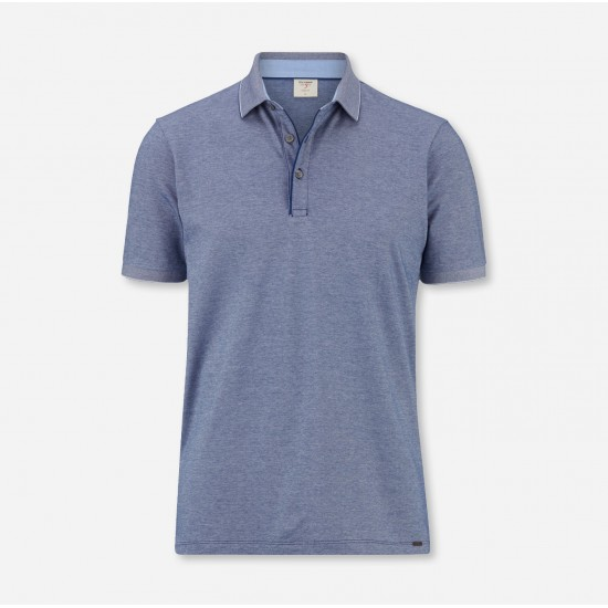 Short Sleeve Polo Body Fit Olymp (Midnight Blue)