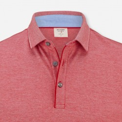 Short Sleeve Polo Body Fit Olymp (coral)